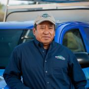 Herlindo Pascual is Crawlspace Foreman of Interstate Pest Management